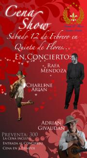 Invitación a concierto 12 de febrero